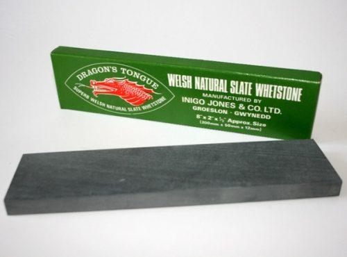 Inigo Jones Slate Works' Dragon's Tongue Whetstones made from Welsh Slate