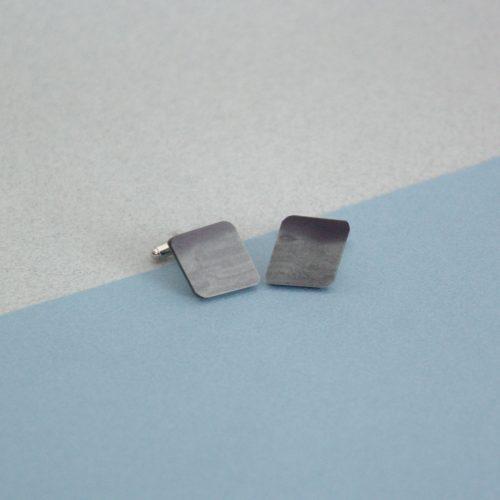 Welsh Slate Diamond Shape Cuff links