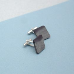 Welsh Slate Diamond Shape Cuff links