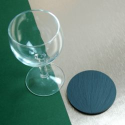 Approximately 80mm Diameter Blue Grey Welsh Slate Round Coasters available in various quantities