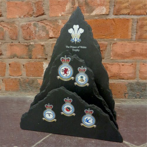 The Prince Of Wales Triple Dressed Edge Hand Shaped Trophy
