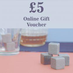 £5.00 Inigo Jones Online Gift Voucher - Tocyn Anrheg Ar Lein gwerth £5.00