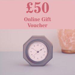 £50.00 Online Gift Voucher