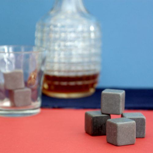 Welsh Chilling Slates more commonly known as Whiskey stones. Chill your drink with these cubes of Welsh Chilling Slate.