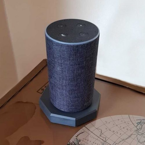 buy your own Octagonal Virtual Assistant AI 'Alexa' Welsh Slate Base
