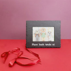 Plant Bach Teulu Ni 6x4 Picture Frame White