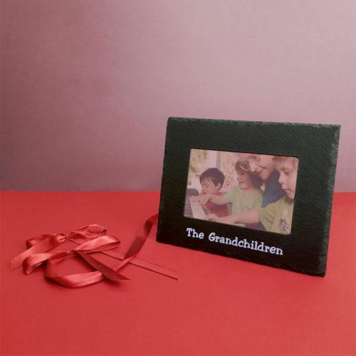 The Grandchildren 6x4 Photo Frame Inigo Jones Slate Works