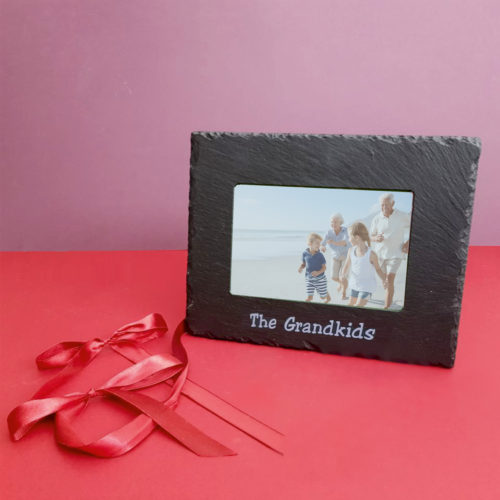The Grandkids 6x4 photo Frame Silver Inigo Jones