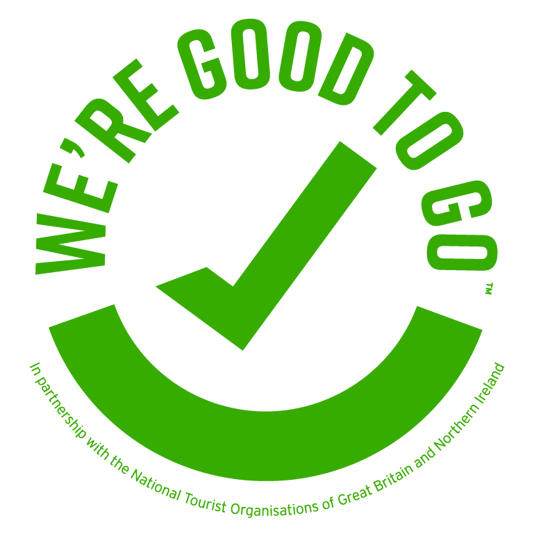 We're Good To Go - Covid- 19 Secure Industry Standard Mark