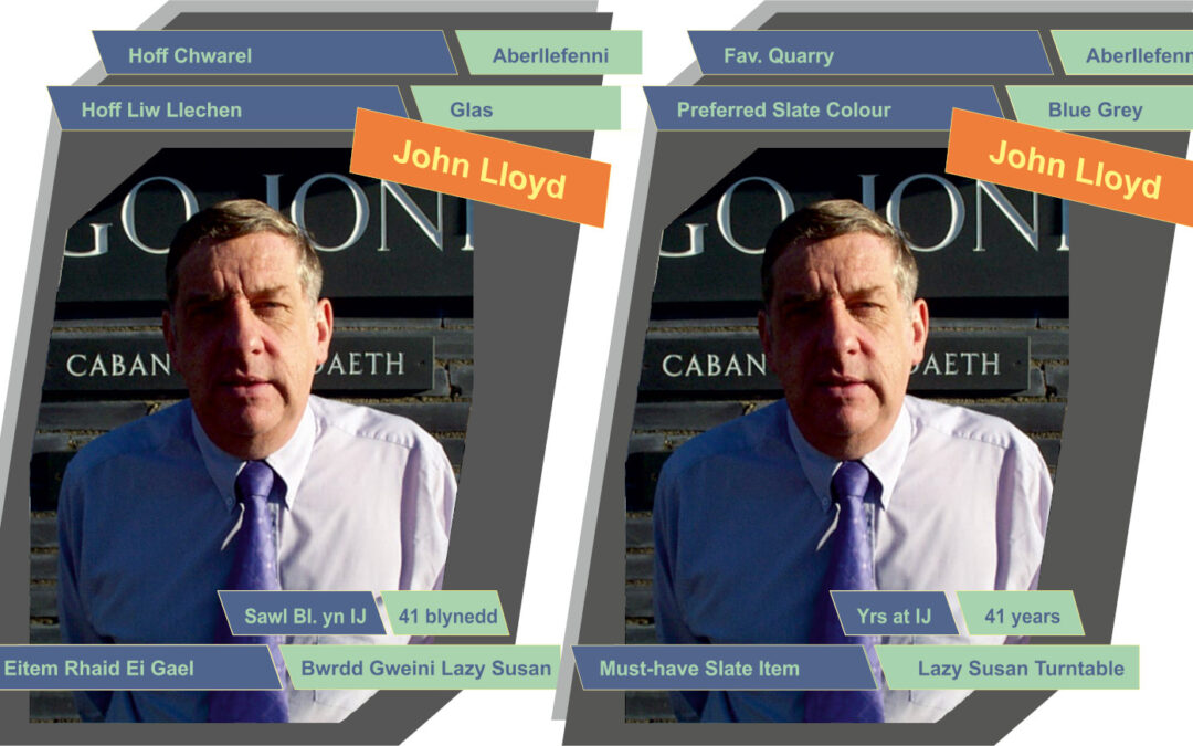 JOHN LLOYD - Owner - Inigo Jones Slate Works Quick Facts